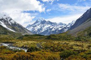 Mont Cook Nouvelle Zelande