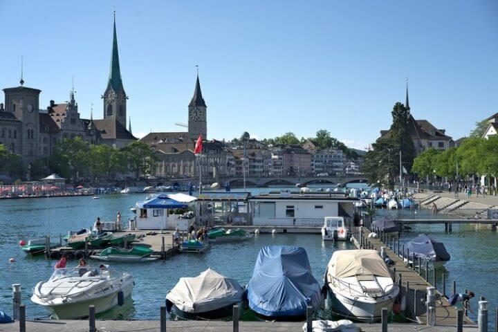 A Noël, venez faire un tour à Zürich