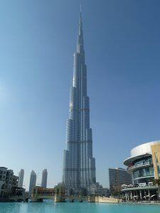Tour Burj Khalifa à Dubaï