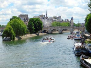 île de la cité Paris