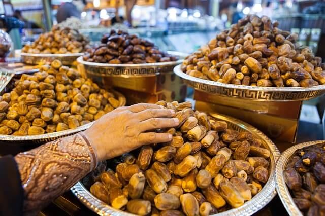 nourriture Dubaï