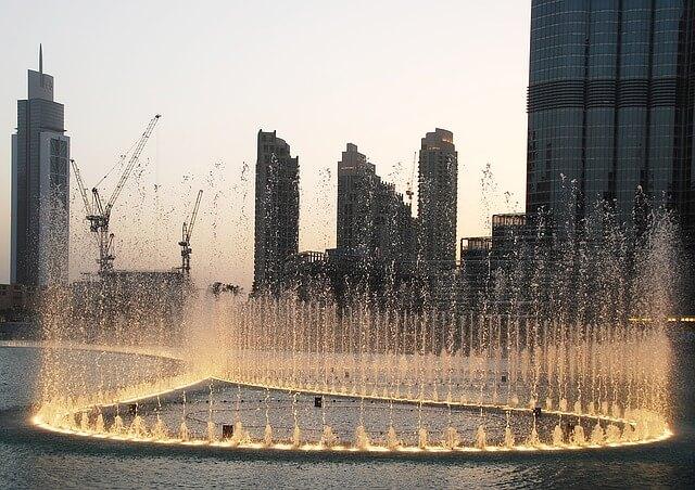 fontaines Dubaï