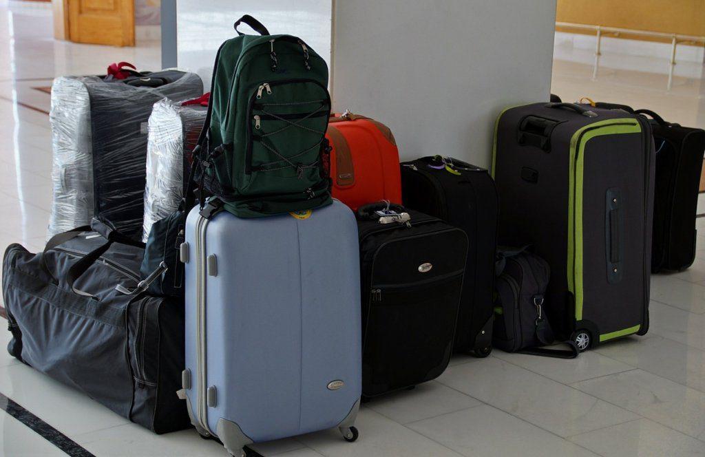 différents tailles valises