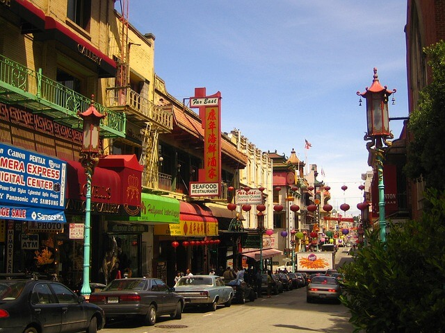 San Francisco quartier chinois