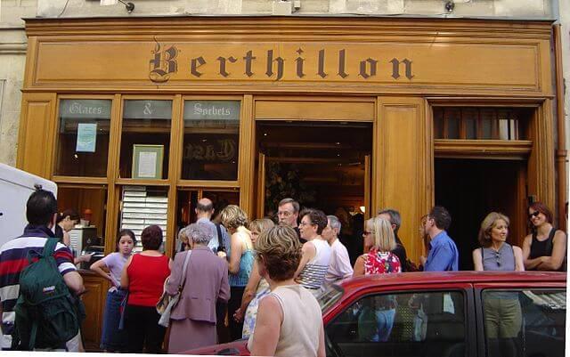 Berthillon Glacier à Paris