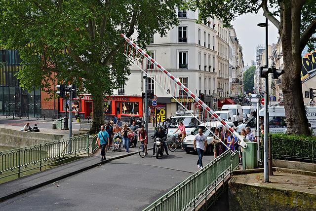 Canal Saint-Martin à Paris