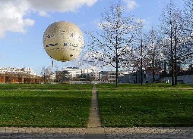 Parc André-Citroën à Paris