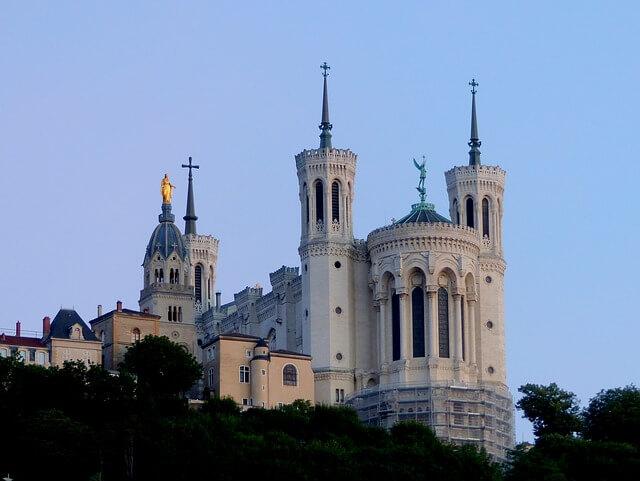 Basilique Notre Dame Fourvière Lyon