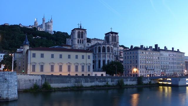 cathédral Saint Jean Baptiste Lyon