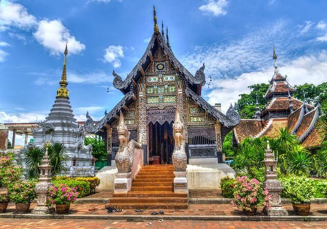 Chiang Mai temple en Thailande