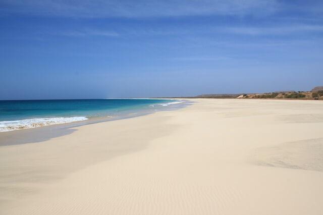Boa Vista plage paradisiaque du Cap-Vert