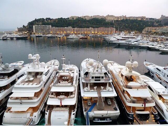 yachts à Monaco