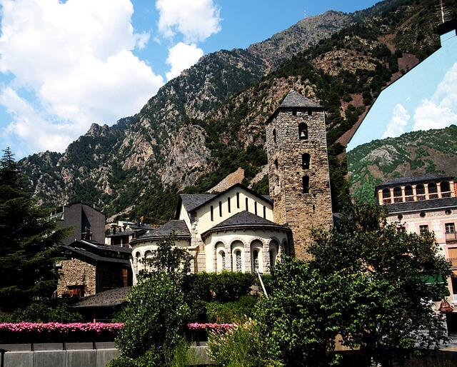 église Andorre