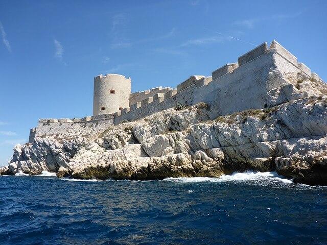château d'If à Marseille, îles du Frioul