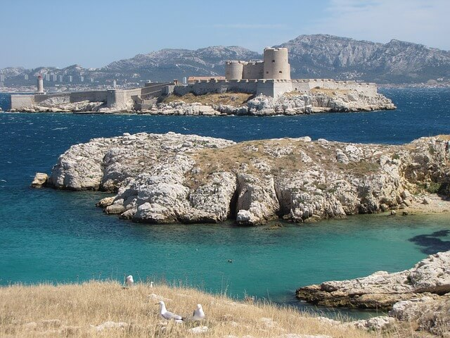 îles du Frioul à Marseille