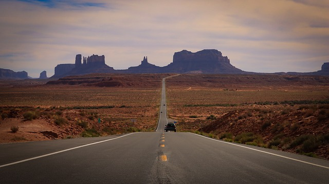 road trip USA Monument Valley