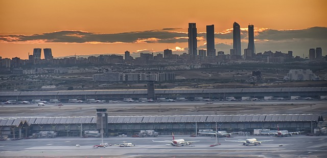 Grand aéroport Madrid Barajas en Europe