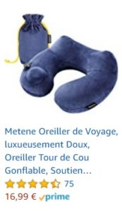 coussin voyage