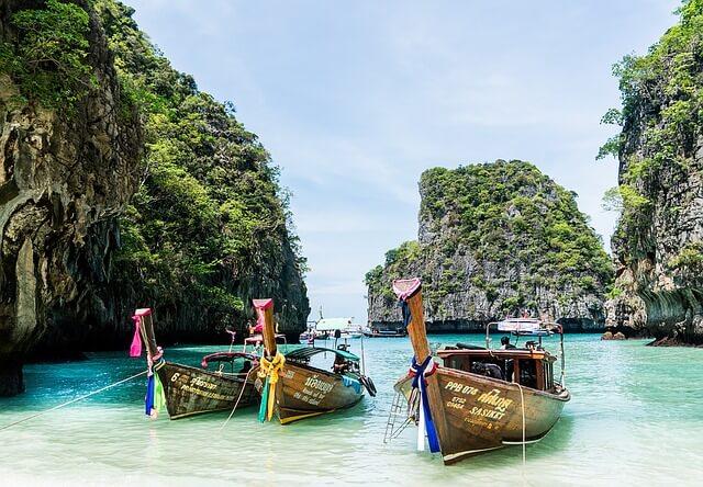 Partir en novembre sous le soleil de l'île Phi Phi en Thaïlande