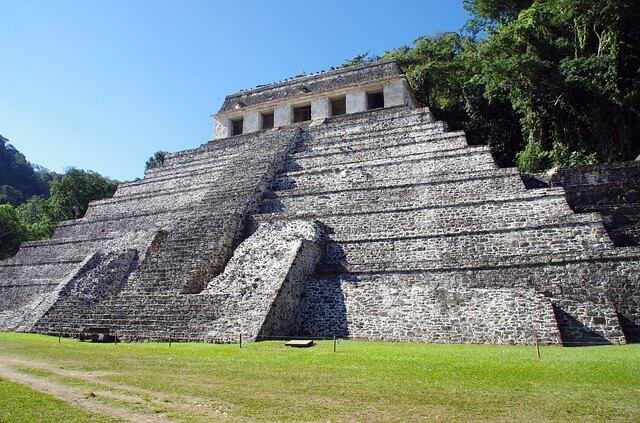 Palenque au Mexique