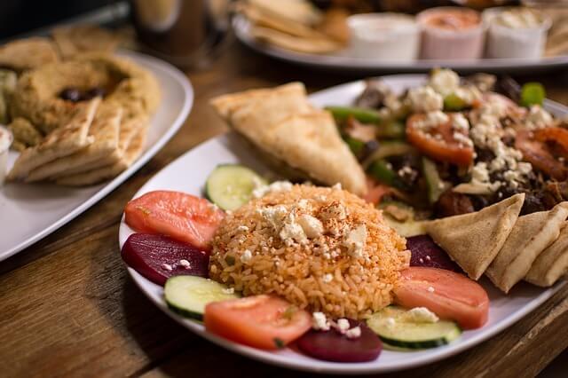 nourriture en Grèce
