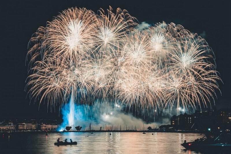 feux d'artifice à Macao