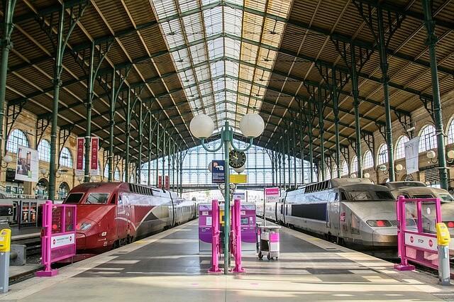 trains à Paris